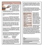 Acupuncture & Hypertension Education Cards