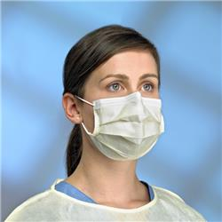 Procedure Mask Yellow, ASTM Level 1, EN Type IIR